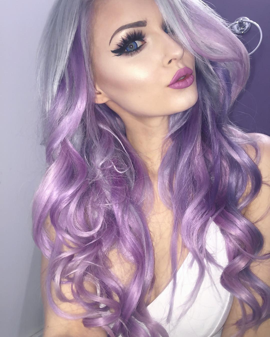 Alyssa claire purplesneakers titanium silver with