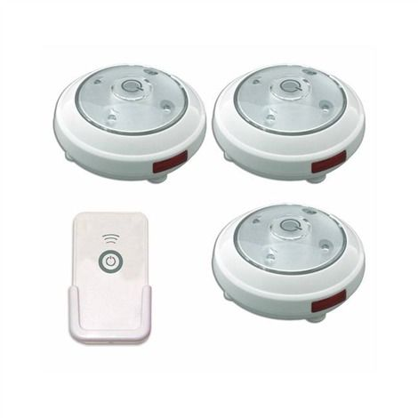 Battery Operated Track Lighting 3 Pack Led Battery Operated Puck Light With Remote Control Rite