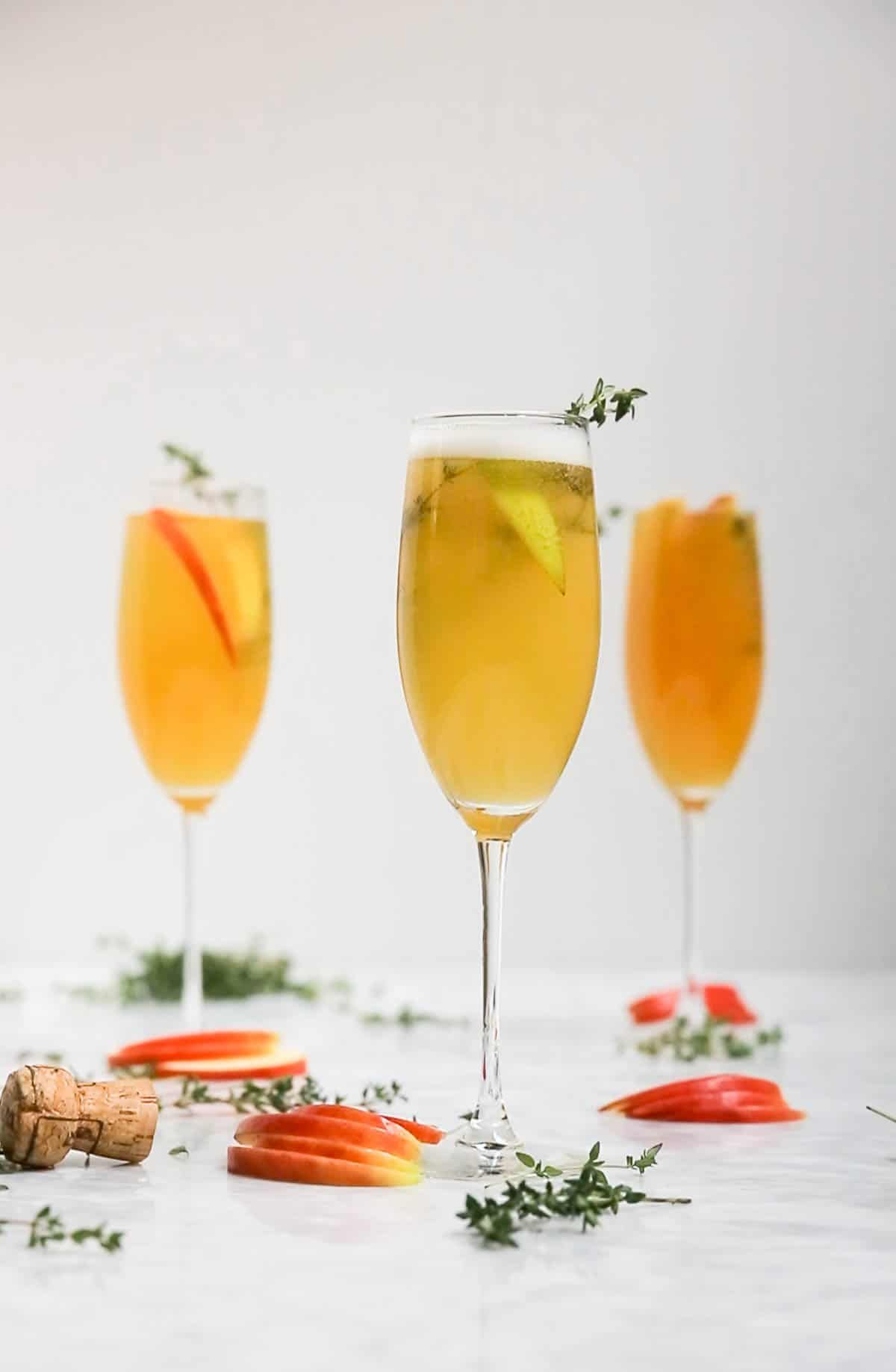 Apple Cider Thyme Mimosa Recipe (With images) Gluten