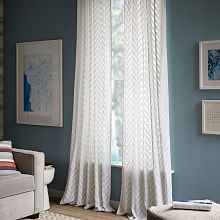 Window Drapes Window Curtains Draperies And Curtains West Elm Chevron Curtains White Curtains Curtains And Draperies