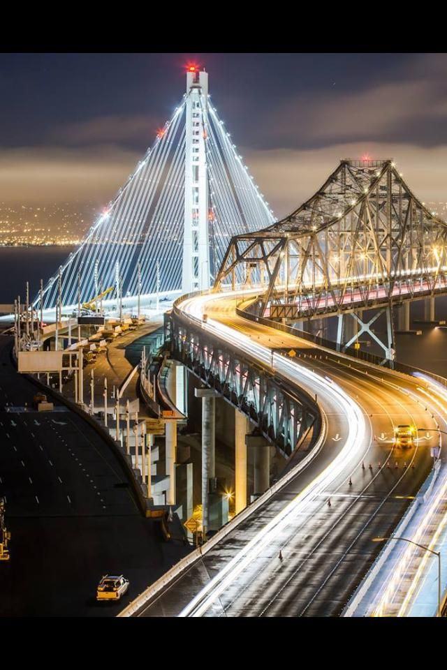 san francisco Ca -new bay bridge being built to withstand earthquakes, thanks lois(my niece) from California