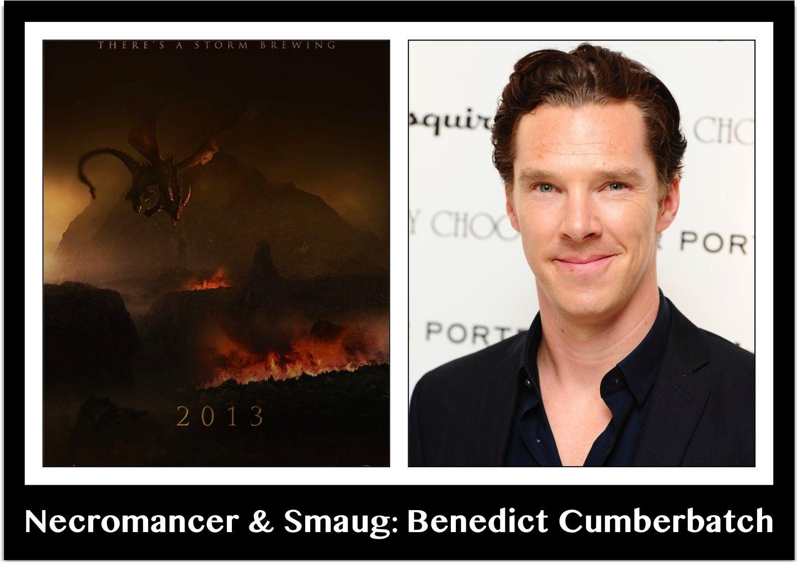 Necromancer & Smaug: Benedict Cumberbatch | The hobbit ...