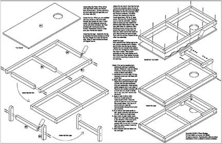 build your own cornhole bag toss game board plans