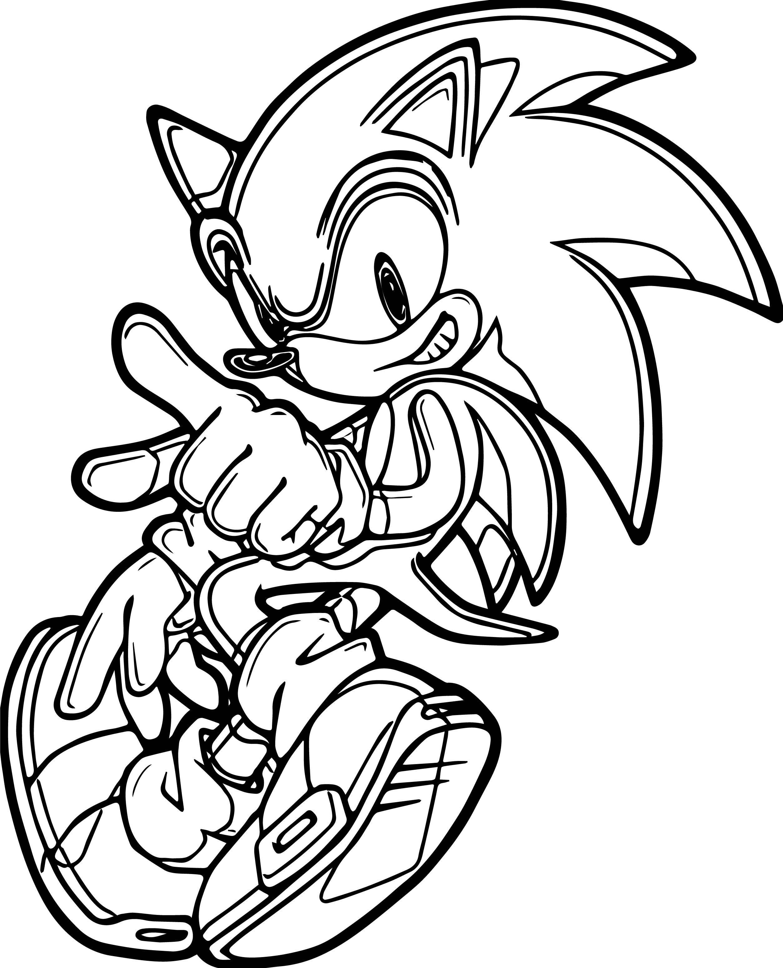 Sonic The Hedgehog Christmas Coloring Pages Hedgehog Colors Printable Coloring Book Power Rangers Coloring Pages