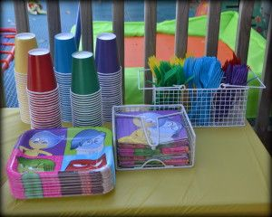 Disney Inside Out Birthday Party Ideas