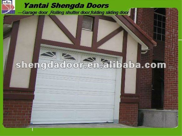 A Crooked Garage Door Cheap Automatic Overhead Sectional Garage Door