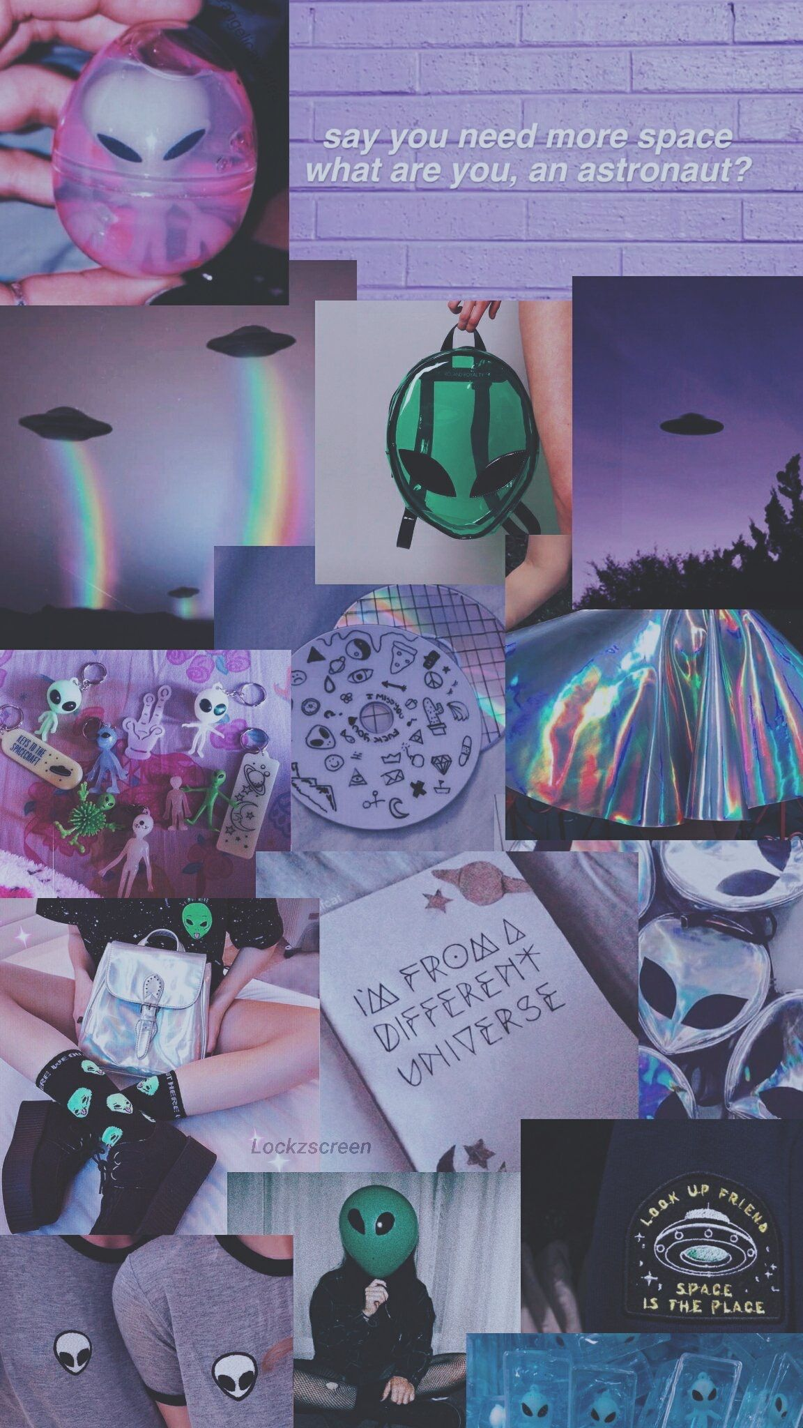 Aesthetic Wallpaper Purple Alien Aesthetic Wallpapers