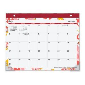 2012 Small desk calendar-- $7.96 on amazon.com but I think I have seen them at Walmart too (or any office store)