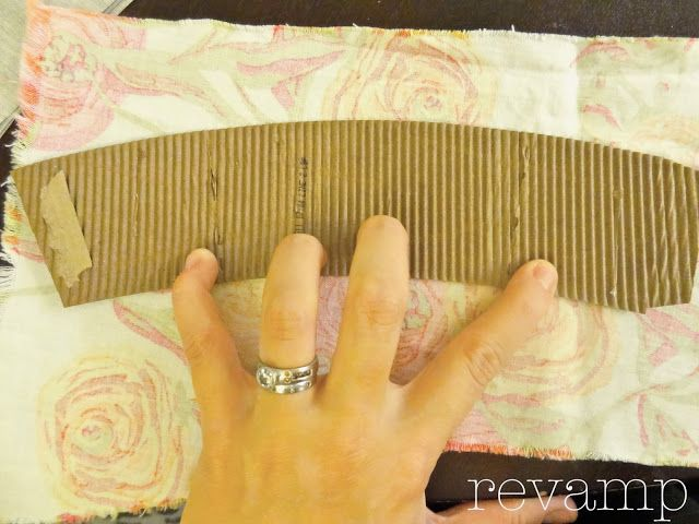 Tutorial:  Fabric Coffee Sleeves by Meg Padgett from Revamp Homegoods