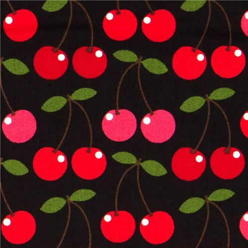 Black Cherry Fabric By Timeless Treasures USA