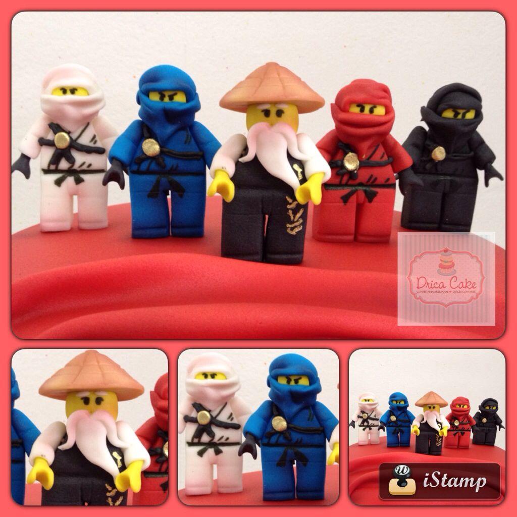 Bonecos Ninjago Lego