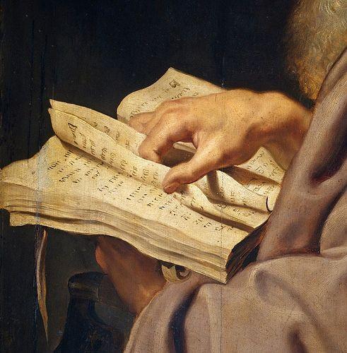Rubens, Pedro Pablo - San Simón (detail)