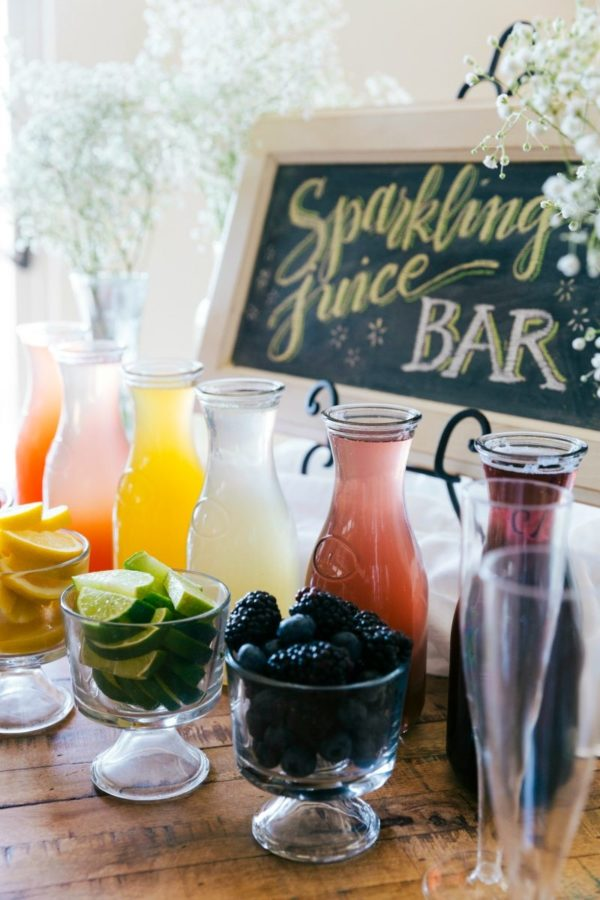 Pancake and Sparkling Juice Bar | Chelsea's Messy Apron ...