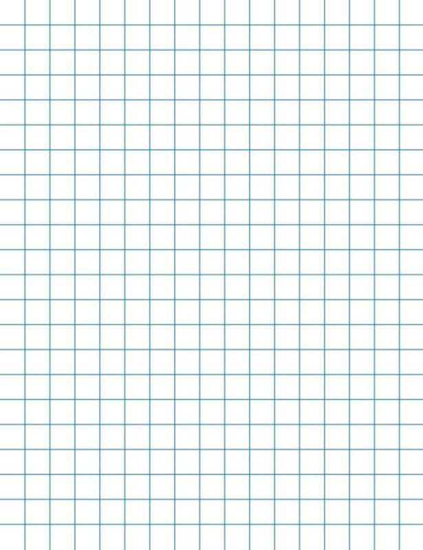Graph Paper Printable 85X11 School Smart Graph Papers - 8-1/2 x