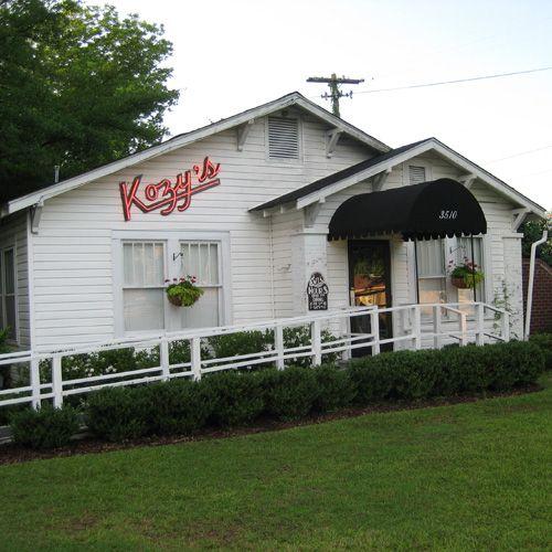 Great Upscale Dining Kozy S Restaurant Tuscaloosa Alabama