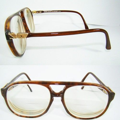 41059640b3d5 eBay  35 Vtg Jean-Louis Scherrer Paris sunglasses MENS eyeglasses CUBA Geek  Retro glasses