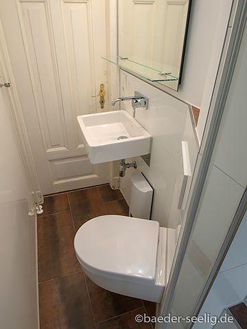 badsanierung minibad in hamburg winterhude bodenfliesen eck wc wandarmatur 2m badezimmer. Black Bedroom Furniture Sets. Home Design Ideas