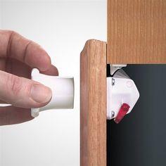 Invisible Cabinet Lock Dementia Friendly Cabinet Lock