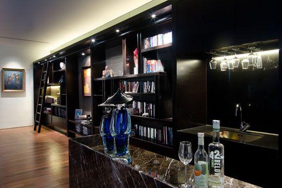 Contemporary home bars design