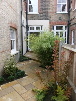 Side return french doors my garden pinterest for Garden design ideas victorian terrace