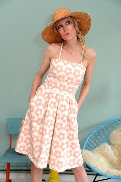 florida kleid sweeny rosa von bonnie buttermilk auf dress dresses birdy. Black Bedroom Furniture Sets. Home Design Ideas