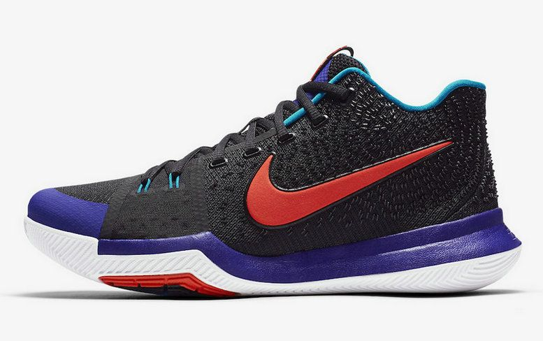 48045b29ea6d Cheap Priced Nike Kyrie 3 Kyrache Light Black Team Orange Concord Neo  Turquoise 852396 007 ...