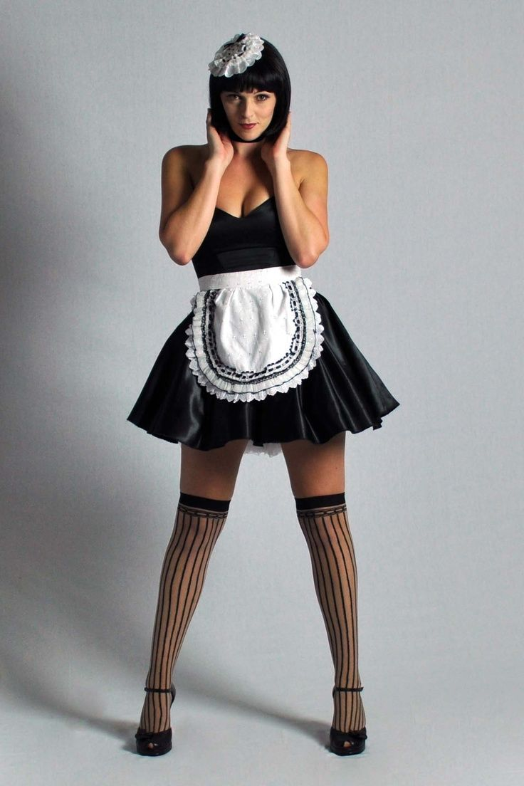 Pinterest girls in maid outfit