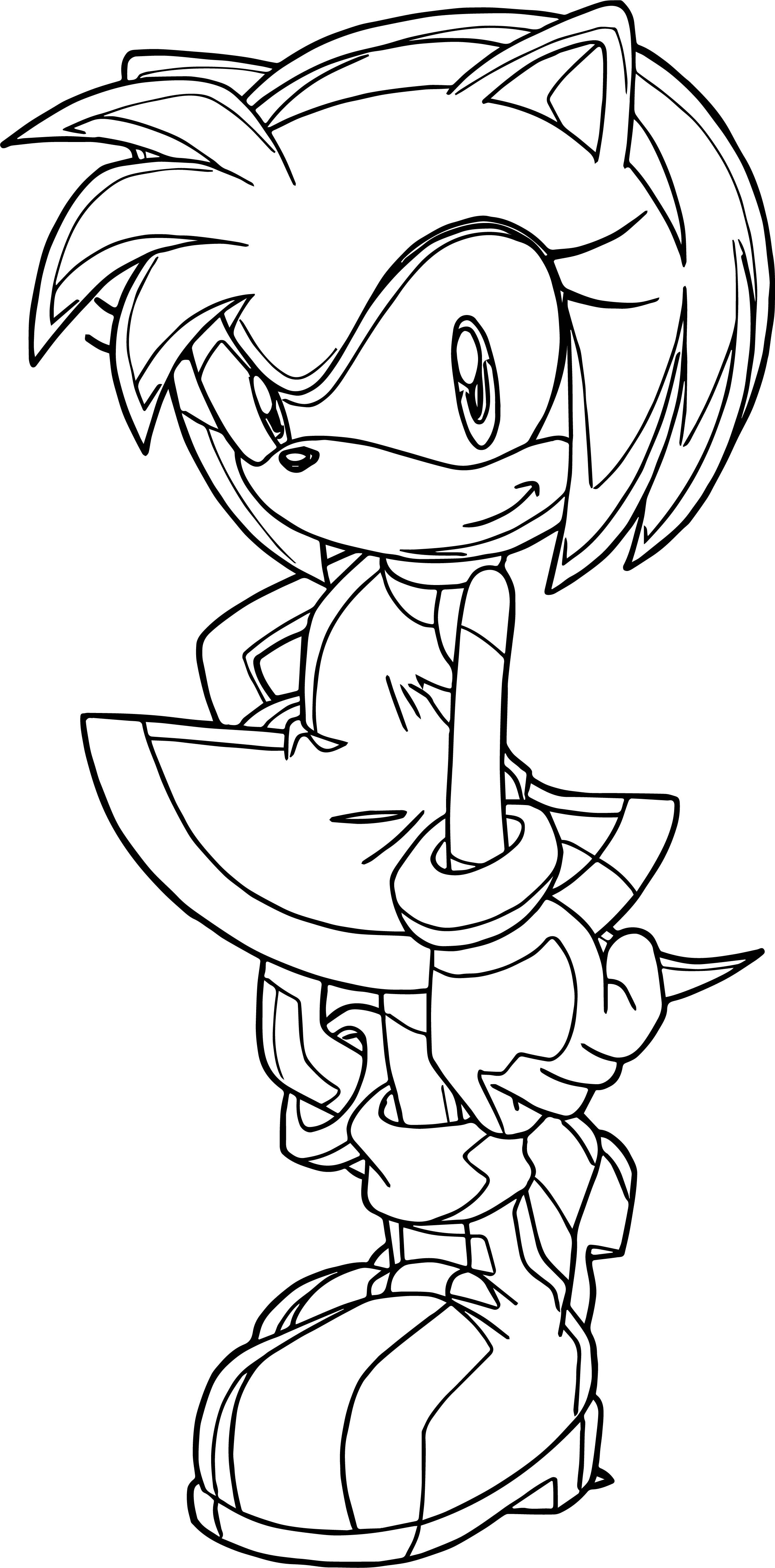 Nice Perfect Cute Amy Rose Coloring Page Rose Coloring Pages Coloring Pages Bible Coloring Pages