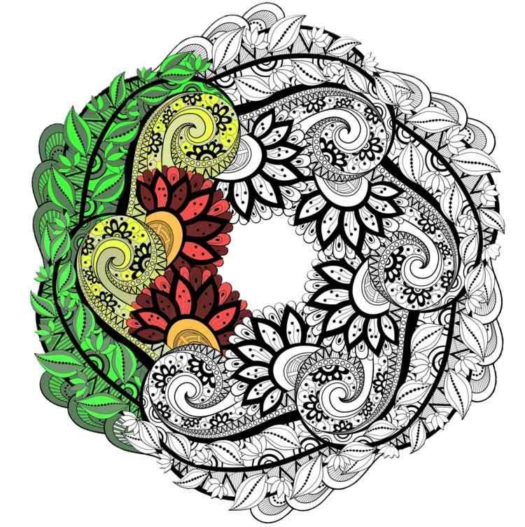 Mandala Bedeutung Herkunft Symbolik Der Farben Und Zahlen Mandala Ausmalen Kostenlose Ausmalbilder Kostenlose Erwachsenen Malvorlagen