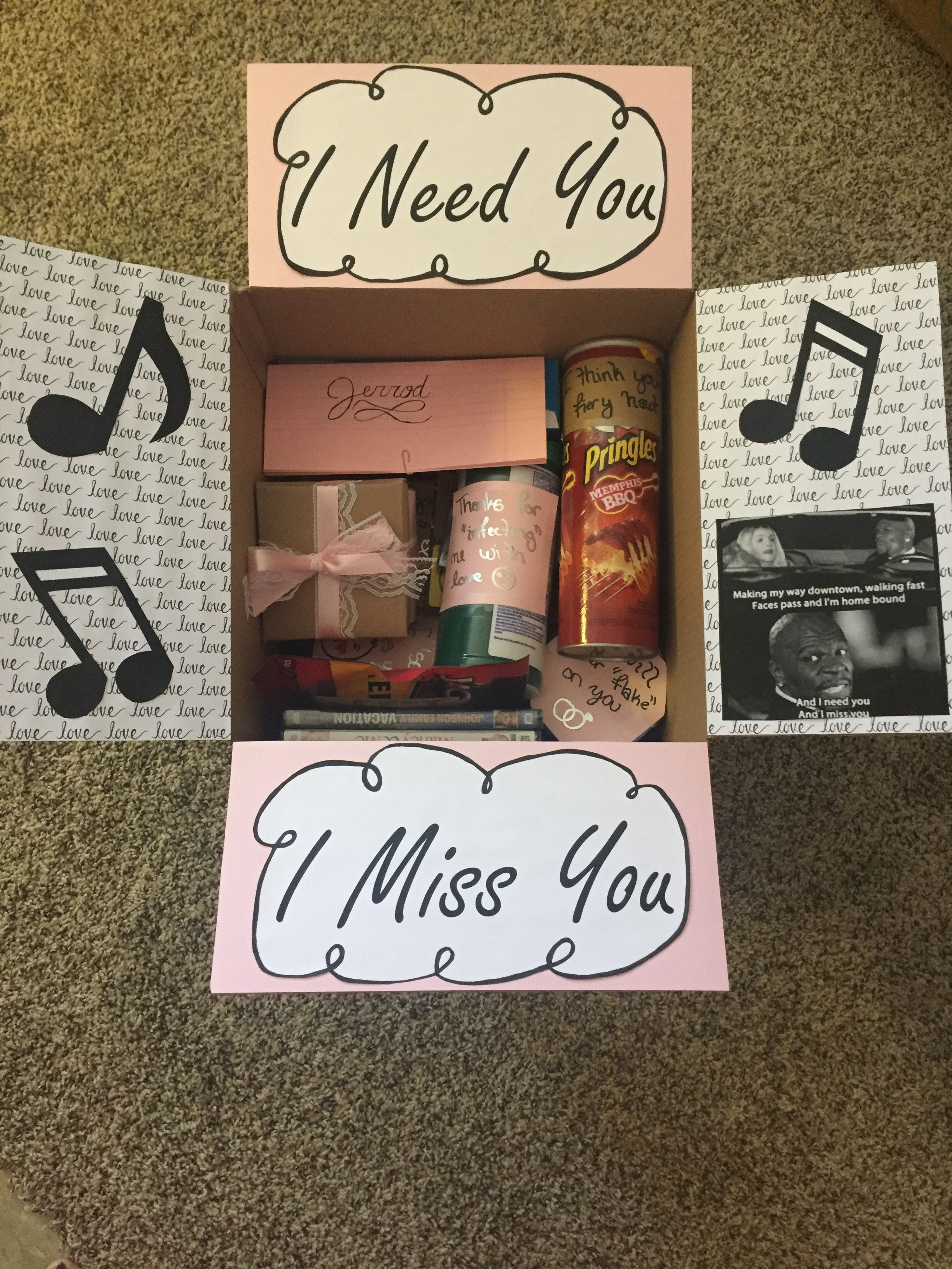 Care package ideas long distance relationship gift ideas