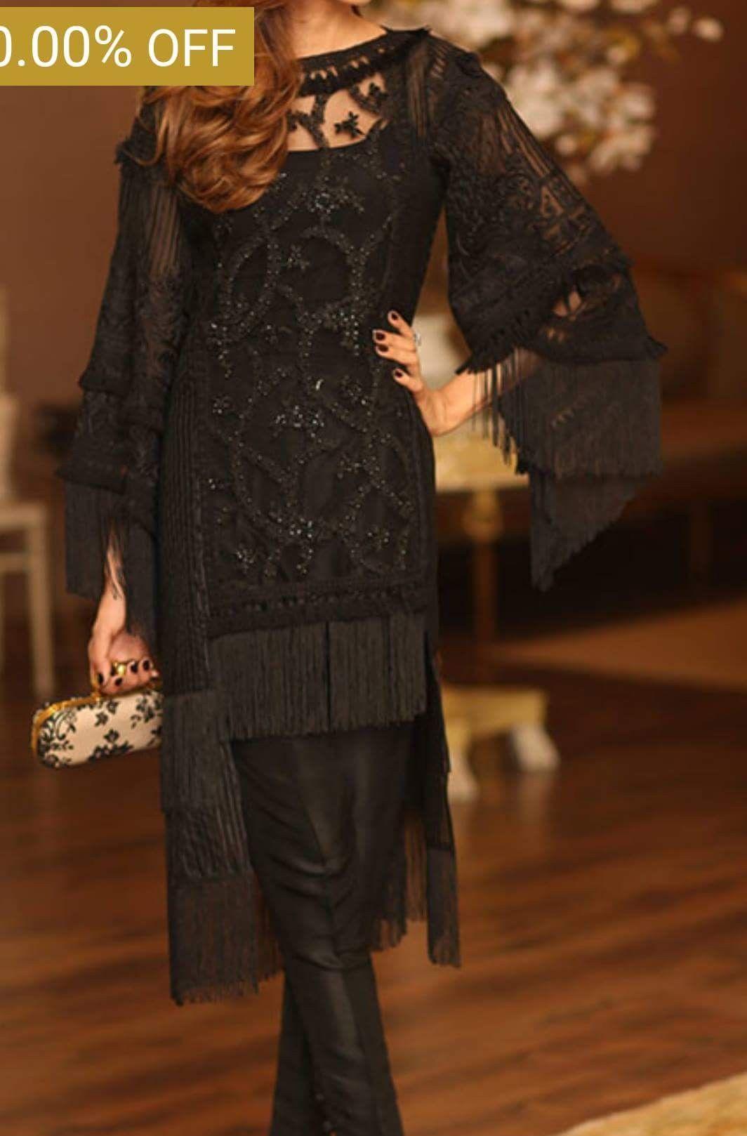 Pin By Shibra Mahanoor On My Wardrobe Black Bridal Dresses Designer Dresses Indian Pakistani Wedding Outfits