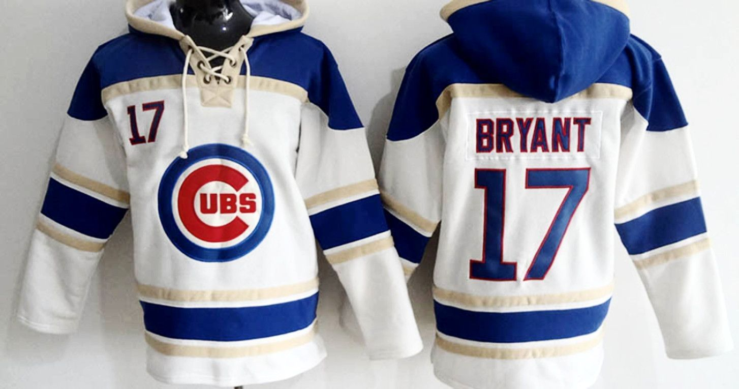 big sale 8da73 d64a4 Kris Bryant Chicago Cubs Pullover Hoodie | Cool sports stuff ...