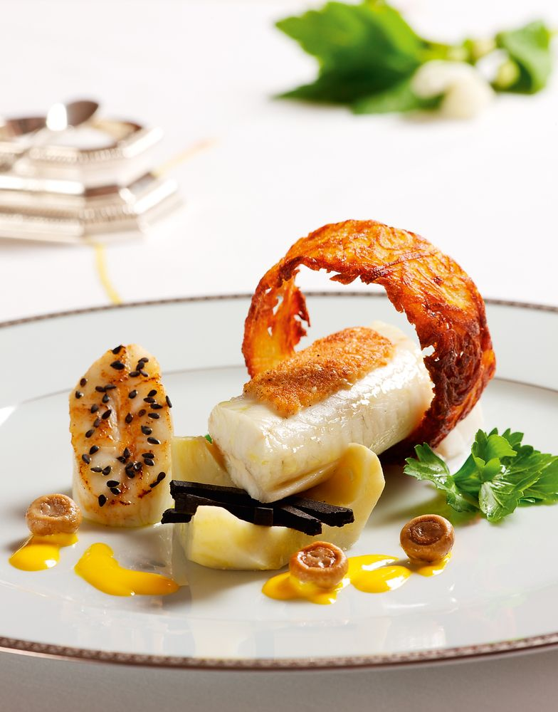 Cuisine de l 39 lys e trois recettes du chef vaussion for Cuisinier 3 etoiles legumes