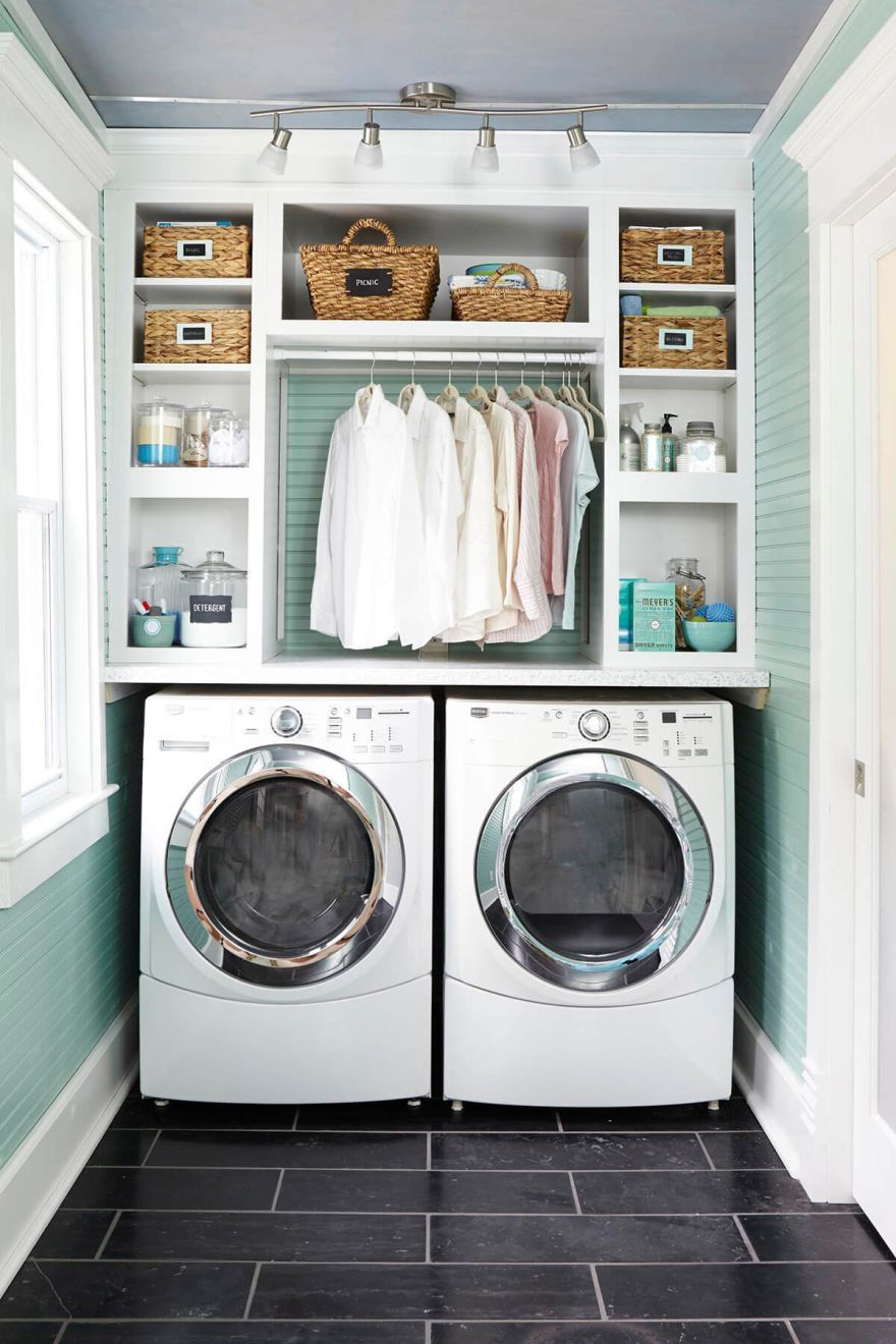 Clever Laundry Room Ideas To Inspire You Small Laundry Rooms