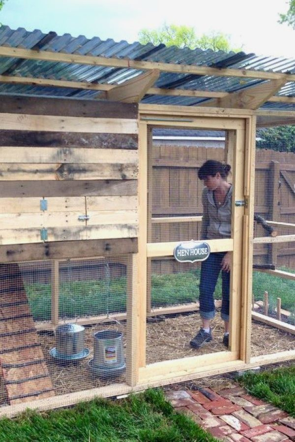 Simple DIY Chicken Coop plans you can build for the ...
