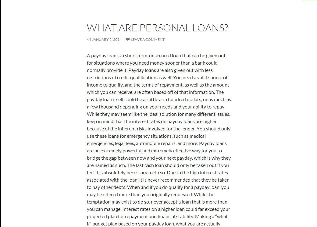 Cash loans bad credit unemployed australia picture 4