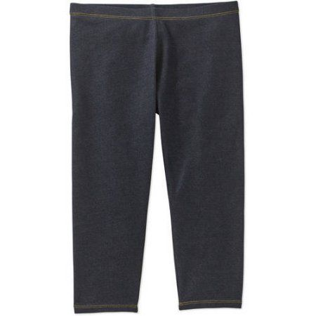cf10973ebaf69 Faded Glory Girls' Capri Legging, Size: 10/12, Blue   Products