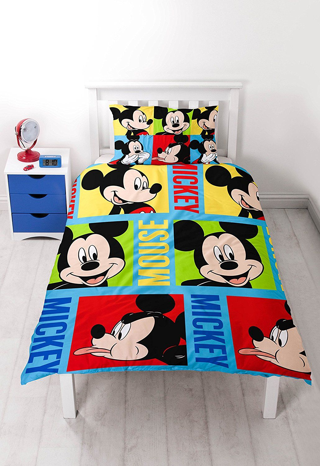 Fototapete Kinderzimmer Minnie Mouse Disney Micky Maus Bright Rotary Print Bettwäsche Set Dieses
