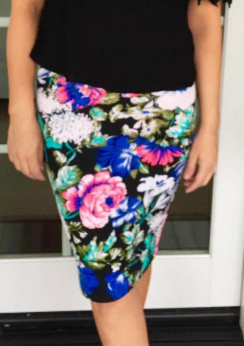 ffdff0c33154 Wild & Free Floral Pencil Skirt   Products   Floral pencil skirt ...