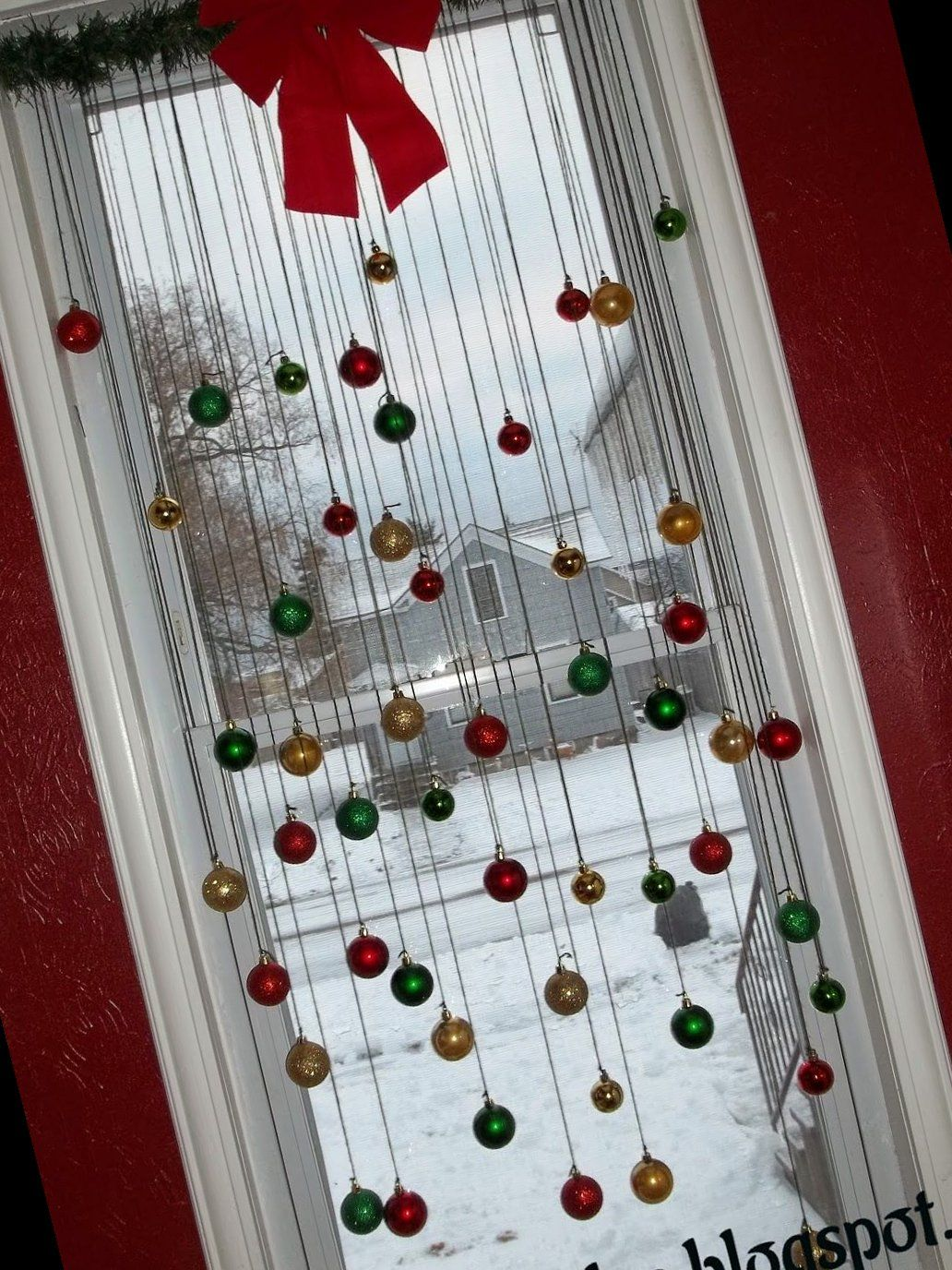 23+ Diy Christmas Window Decorations | Christmas C