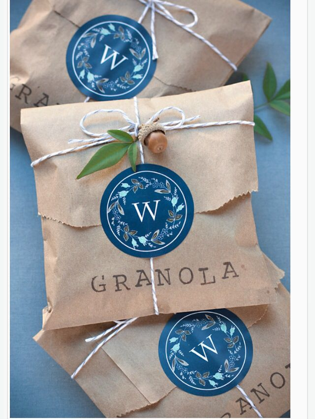 DIY Wedding Favors Brown Bag of Goodies #programingsoftware