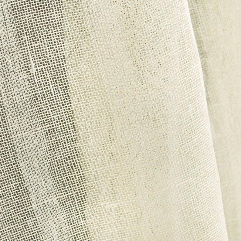 Pure 100 Linen Curtain Fabric 145 Gsm Linen Fabric Linen Etsy Linen Curtains Linen Fabric Curtain Fabric