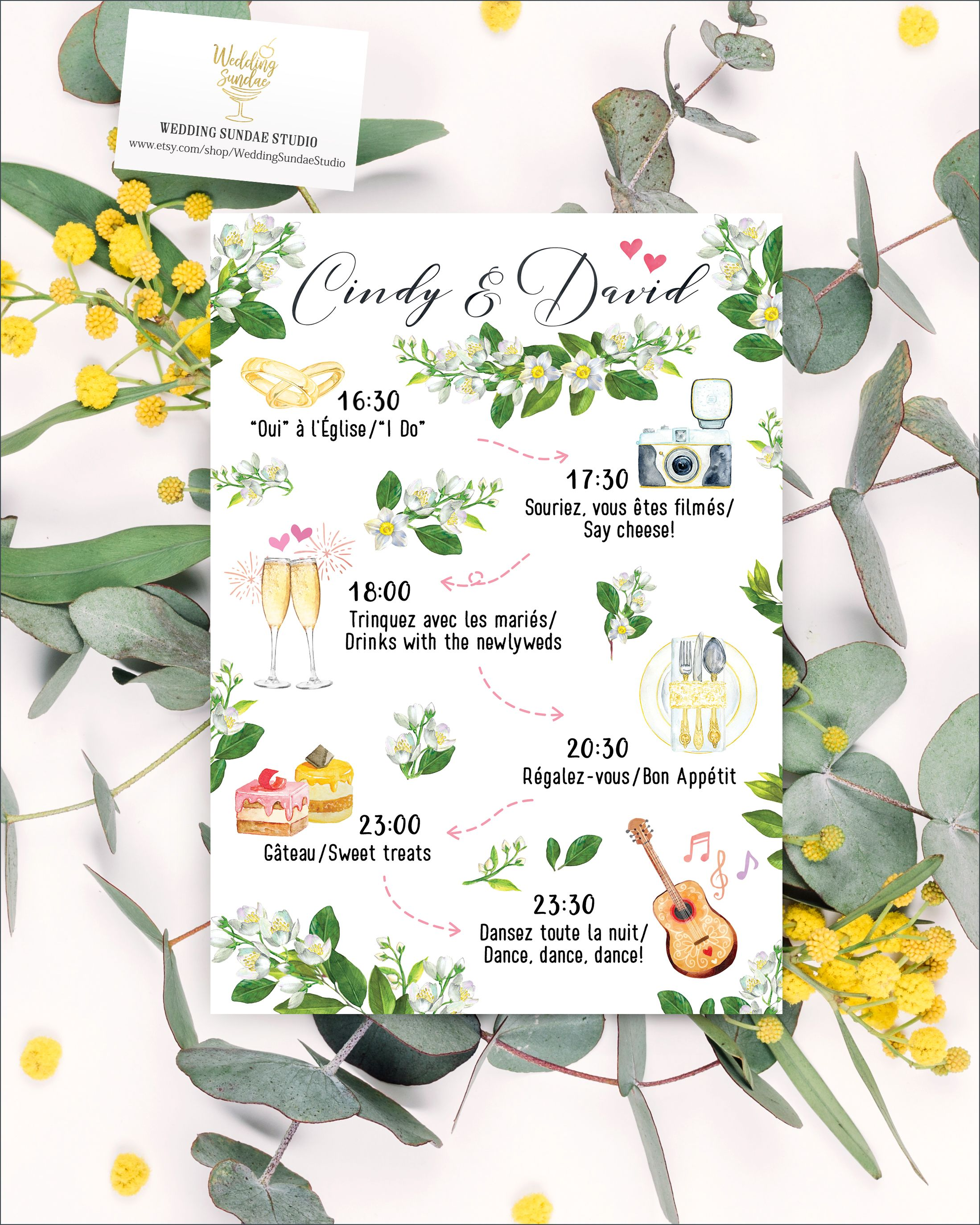 Digital Printable Files Destination Wedding CORK IRELAND Watercolor Painting Wedding Invitation RSVP Card Set Wedding Stationery ID788