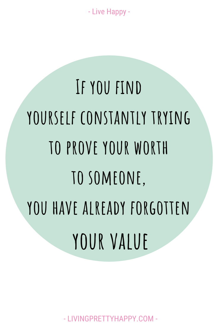 5 ways to build up your self-worth