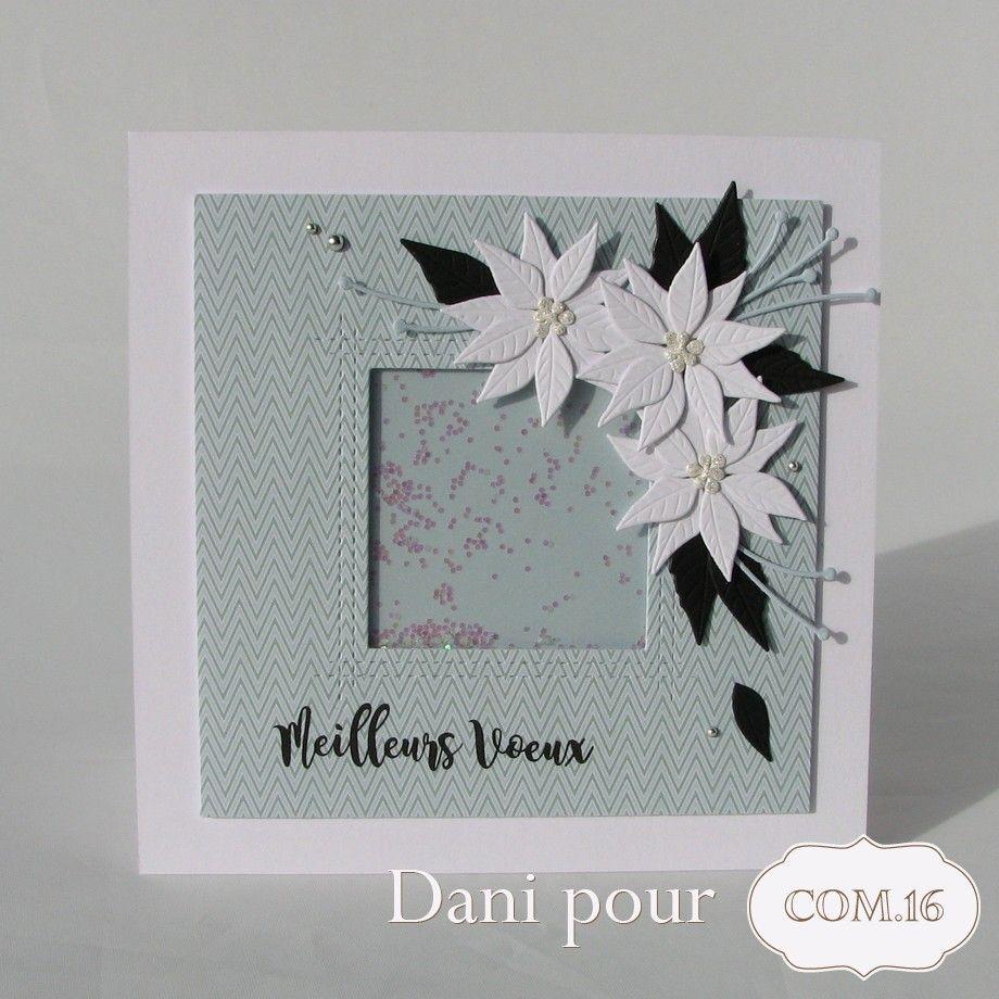 scrap : cartes de vœux aux couleurs givrées | carte simply graphic