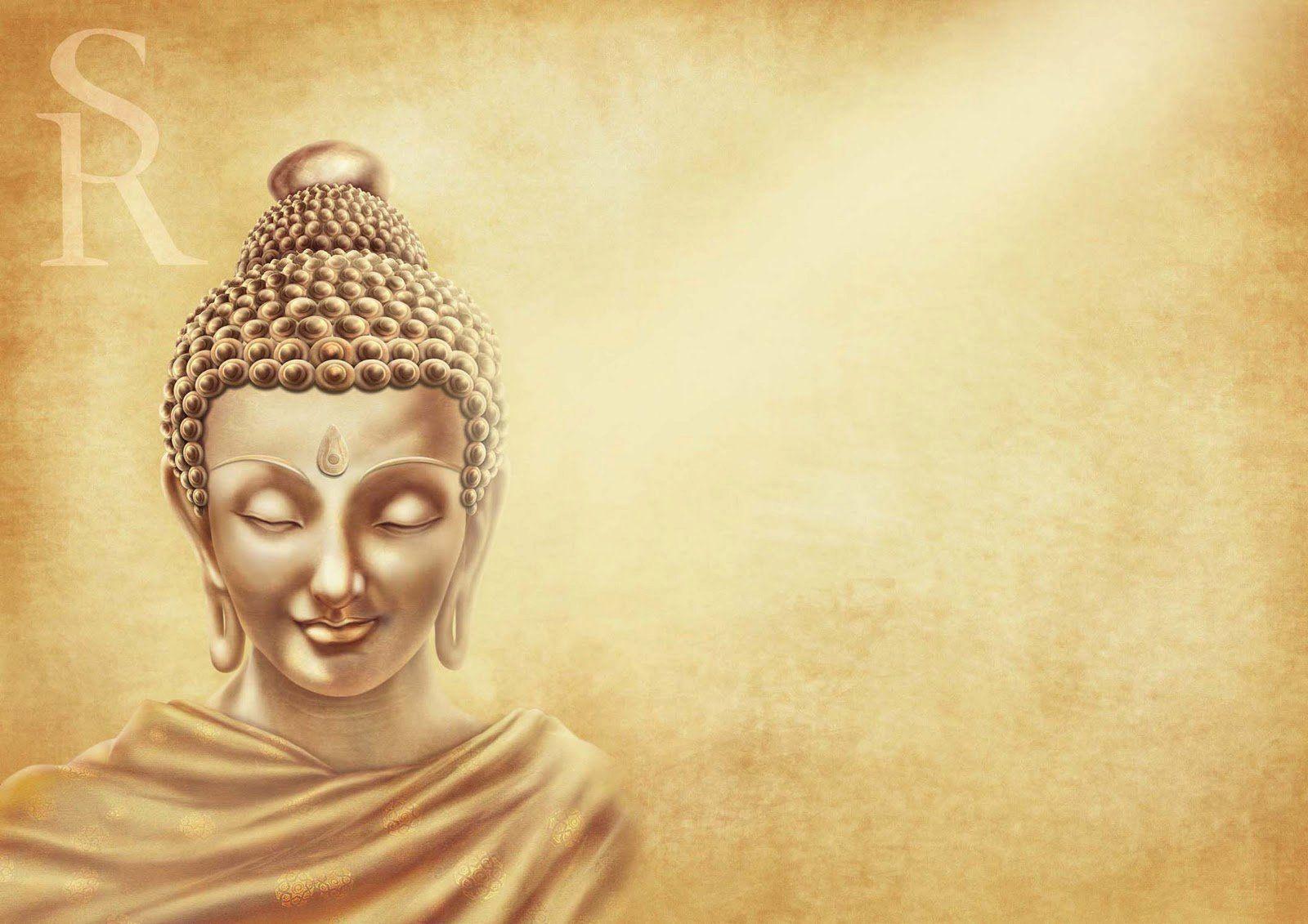 Wallpaper Gautam Buddha On