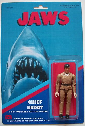 Jaws Rubber Shark Toy : Jaws figure chief brody popsfartberger custom