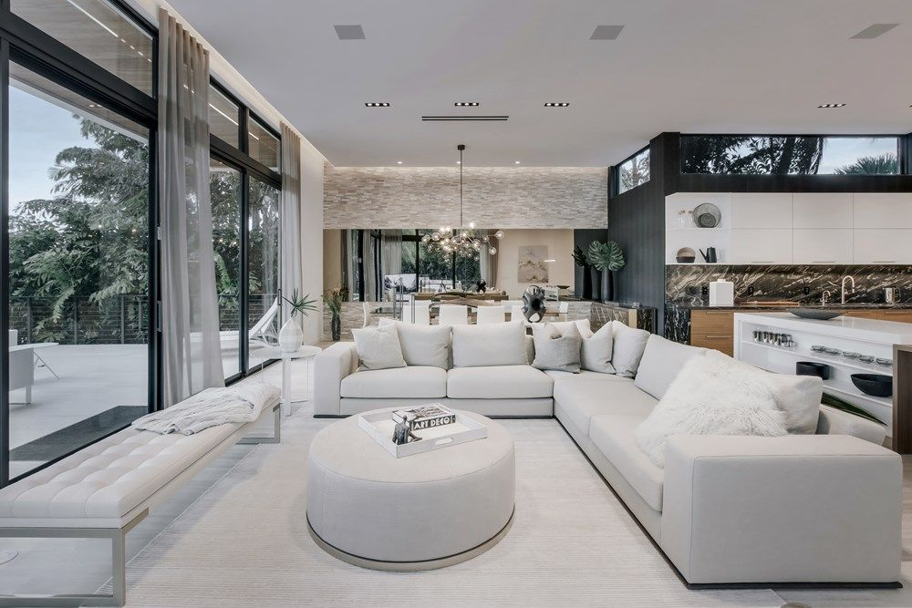 Fort Lauderdale House By Yodezeen Architects Fort Lauderdale House Farm House Living Room House