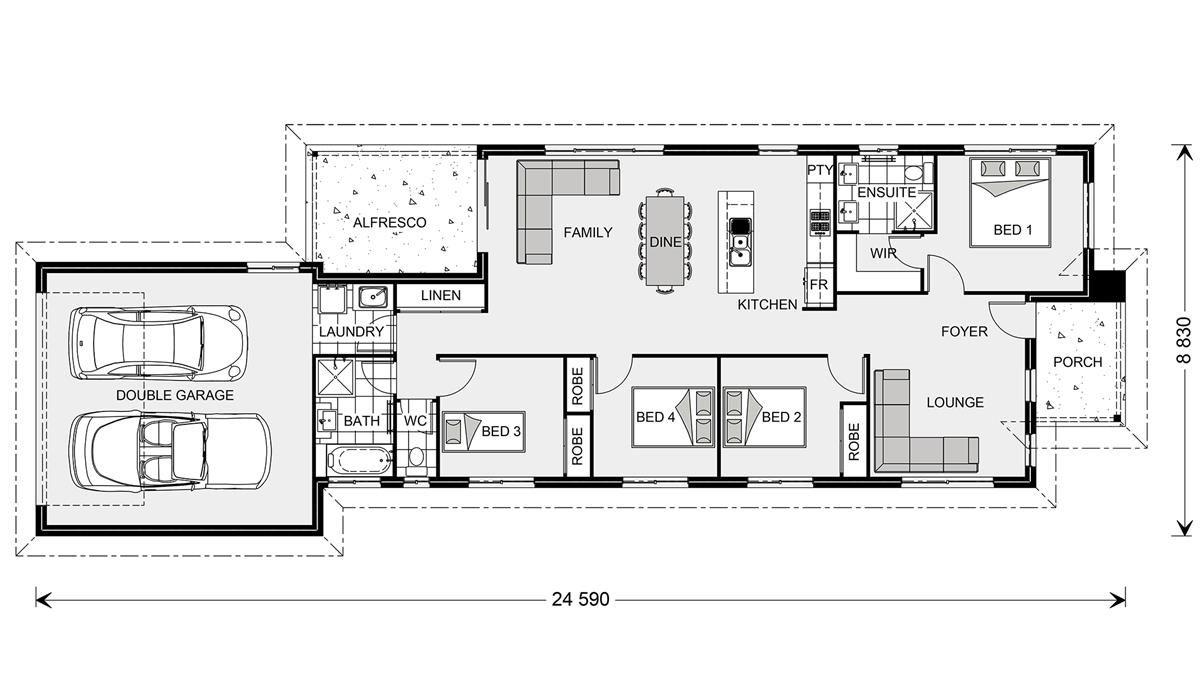 Greenhill 176 Rear Lane - Element Metro, Home Designs in Gladstone ...