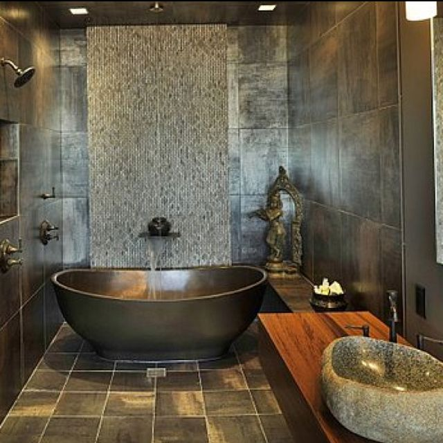 30 Amazing Asian Inspired Bathroom Design Ideas Aziatische